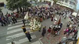 preview picture of video 'Procesión del Encuentro. Semana Santa S'Arenal 2014'