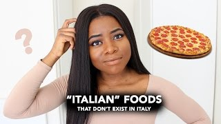 5 Italian Foods That Dont Exist In Italy