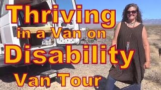 Disabled Woman Living in a Van!