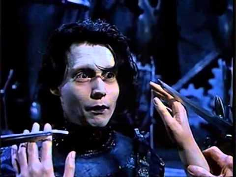Смотреть Эдвард руки-ножницы