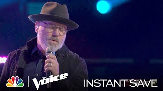 """Pete Mroz's Wildcard Instant Save Performance: """"Speechless"""" - The Voice Top 17 Live Results 2021"""