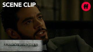 Shadowhunters | Season 2, Episode 6: Aldertree Threatens Jace | Freeform