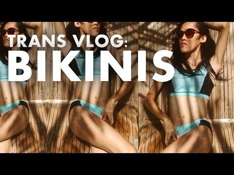 Transgender Vlog: First Time in a Bikini