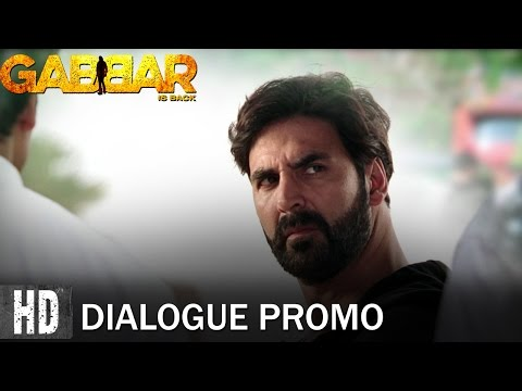 Join The Gabbar Army - Dialogue Promo 3 | Starring Akshay Kumar & Shruti Haasan | In Cinemas Now