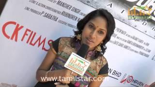Gayathri Dhandapani at Maindhan Movie Audio Launch