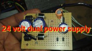 24v Dual Power Supply Making