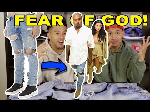 FEAR OF GOD DENIM JEANS