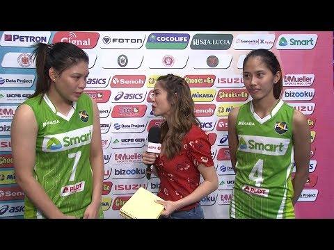 [Sport5]  Match MVPs: Czarina Grace Carandang and Jasmine Nabor | PSL All-Filipino Conference 2018