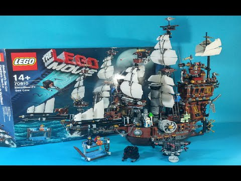 Vidéo LEGO The LEGO Movie 70810 : Le lamantin de Barbe d'Acier