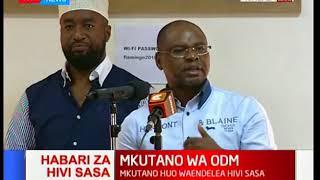 Governor Kingi abandons William Ruto midway as Raila Odinga visits Coast