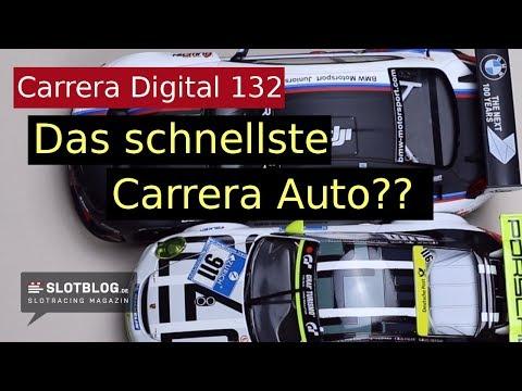 Welches ist das schnellste Carrera Auto?