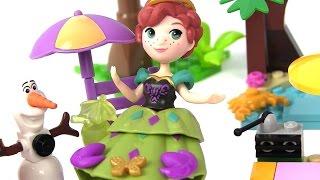 Принцессы Диснея. Олаф на Море! Мультик Холодное Сердце. Анна и Эльза Disney Princess Frozen Куклы