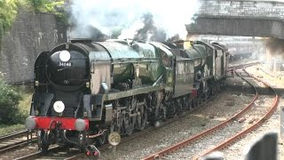 preview picture of video '(ACE) Atlantic Coast Express clips - Saltash and Plymouth 080914'