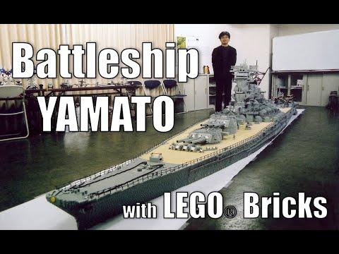 0 【動画】レゴ+巨大+戦艦