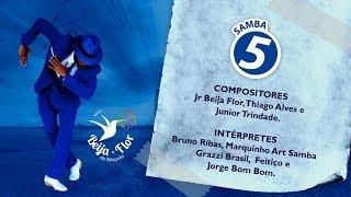 Beija Flor 2020 - Samba 5 - Jr Beija Flor, Thiago Alves e Júnior Trindade