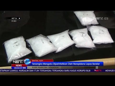 Sat Narkoba Polres Bintan Temukan 21 Paket Sabu Seberat 1 Kilogram - NET 24