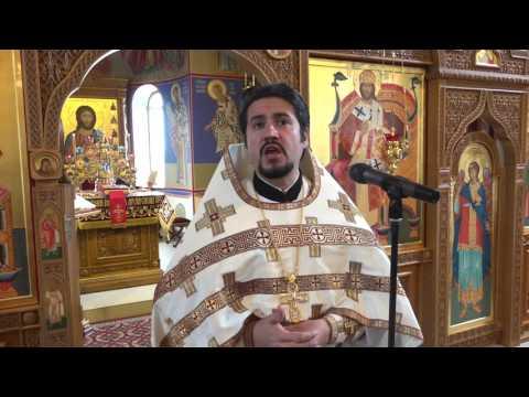 Проповеди и поздравление в день святых жен-мироносиц