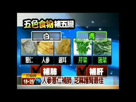 五色食物進補 營養健康加倍