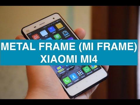 Foto Recensione Metal Frame Bumper Xiaomi Mi4