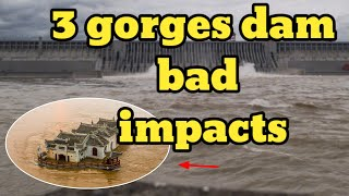 Advantages and disadvantages of the three gorges dam