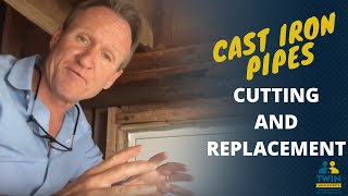 How To Cut And Replace Cast Iron Pipe
