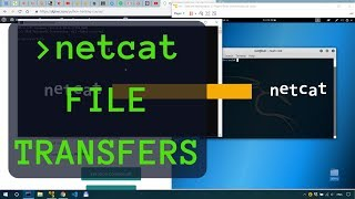 How I use netcat for File Transfers - Penetration Testing