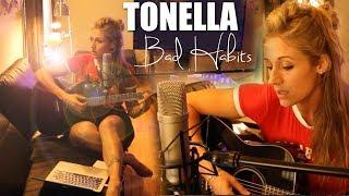 Bad Habits   Delaney Jane   Tonella Cover