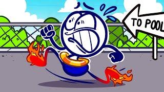 """Rub The Wrong Way""   Pencilmation Kids Compilation   Animation   Cartoons"