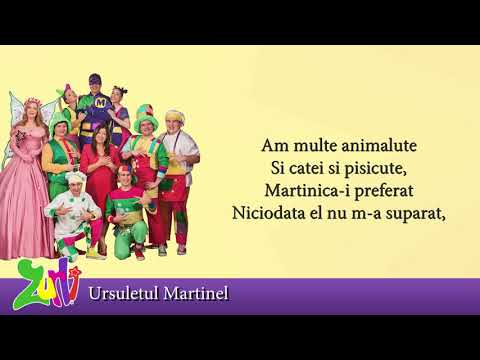 Gasca Zurli - Ursuletul Martinel (cu versuri - lyrics video) Video