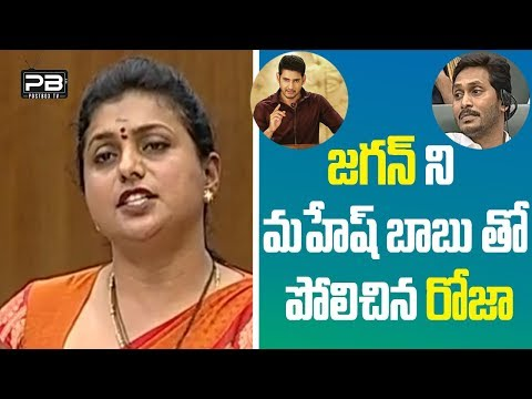 MLA RK Roja Speech At AP Assembly Budget Sessions 2019