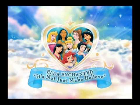 Disney Princess 'It's Not Just Make Believe'