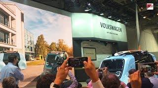 "CEBIT 2018: VW stellt autonomes Fahrzeug ""Sedric"" vor"