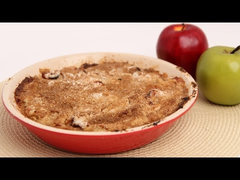 Apple Cranberry Crumble Recipe – Laura Vitale – Laura in the Kitchen Episode 686
