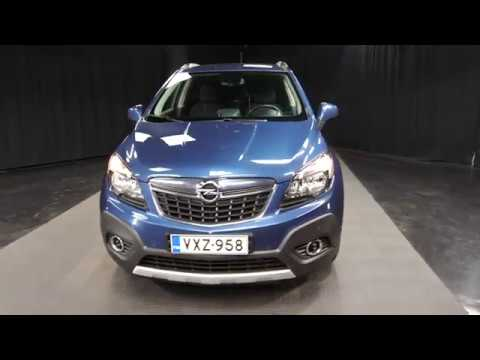 Opel MOKKA 5-ov Drive 1,4 Turbo 103 A (MY16.A), Maastoauto, Automaatti, Bensiini, VXZ-958