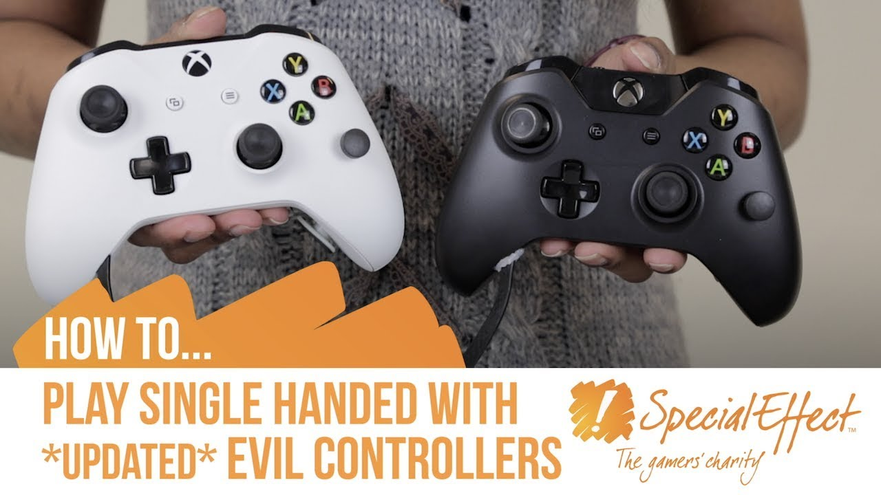 video placeholder for How to Play Single Handed with Evil Controllers *Update March 2018* | How to... Video