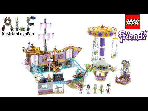 Vidéo LEGO Friends 41375 : Le quai de Heartlake City
