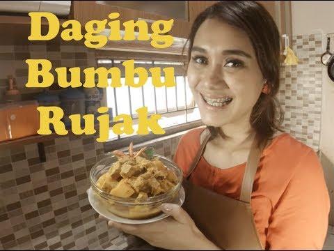 "Video Resep Lebaran ""Daging Bumbu Rujak"""