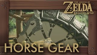 Zelda Breath of the Wild - All Horse Gear Locations (Saddles & Bridles)
