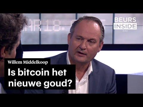 Bitcoin is het nieuwe goud, volgens Willem Middelkoop • #BeursInside