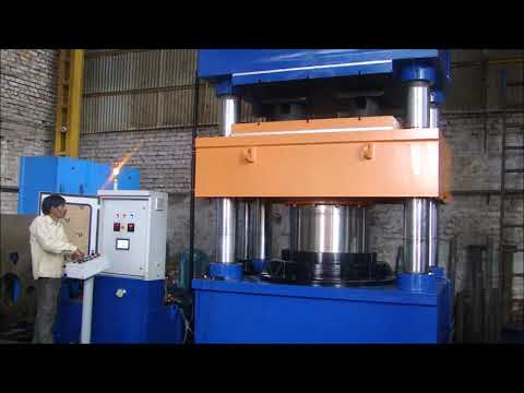 Solid Tyre Hydraulic Molding Press