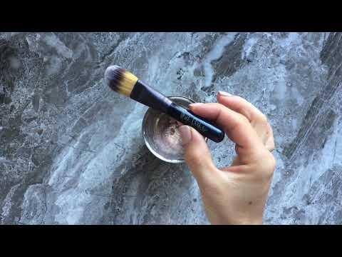 Honey brandy pula ng castor oil para sa buhok mula sa graying