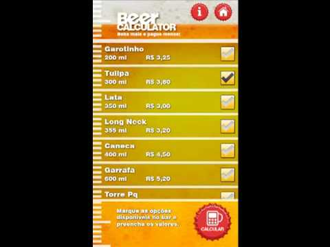 Video of BeerCalculator