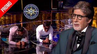 KBC 13 Promo | Suniel Shetty & Jackie Shroff's Do Exercise To Inspire Amitabh Bachchan & Fans