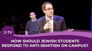WATCH: Anti-Semitism on campus? How to respond…