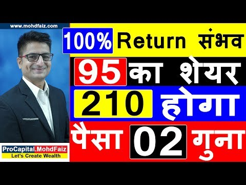100 % Return संभव | POSITIONAL TRADING STRATEGY | Latest Stock Market Tips In Hindi