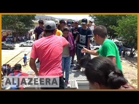 🇲🇽 US-bound migrant caravan sparks Trump tweetstorm | Al Jazeera English