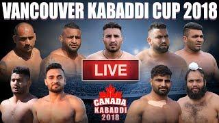 LIVE | Vancouver Kabaddi Cup 2018 CANADA KABADDI