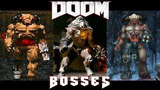 All Bosses of DOOM (1993 - 2020)