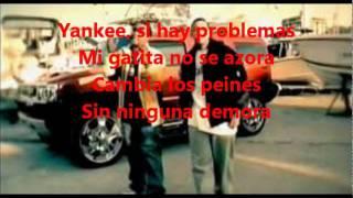 """A fuego """"Mi Gata Gangster"""" con letra - Don Omar Ft. Daddy Yankee"""