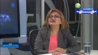 Entrevista orbita tv a Defensora del Pueblo, Licda. Raquel Caballero de Guevara